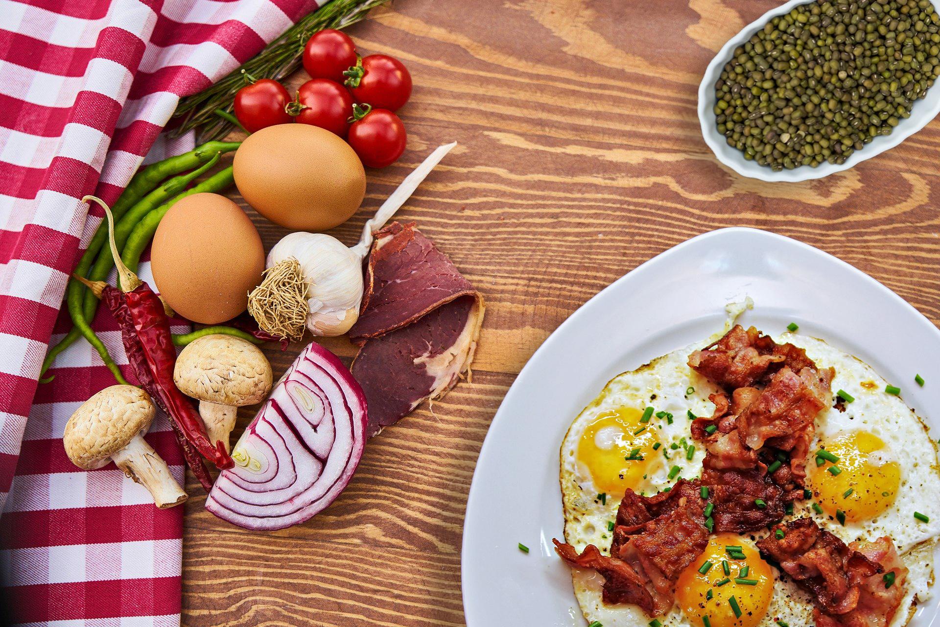 Une alimentation riche en protéines