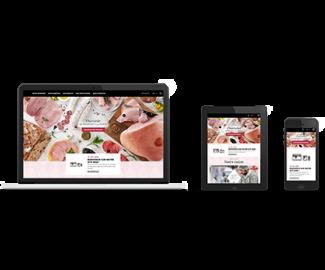 ABC new website delicatessen productor