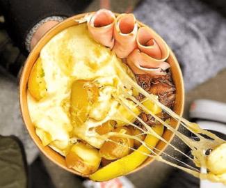 Raclette Bowl - tendance culinaire