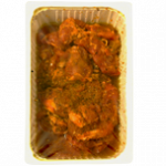 Indian marinated spider steaks - Package contains 2 units - 2 kg container