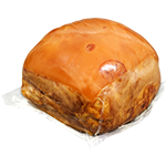 Superior cooked ham with rind - Approx. 7 kg - Variable weight - Beechwood smoked