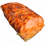 Superior cooked pork roast, cured and browned 1/2 unit - 4 kg